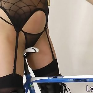 Doggystyle screwed milf pounded in lingerie