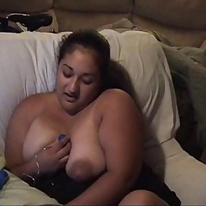 busty latina milf plays with big knockers and egg vibrator.MOV