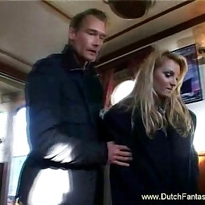 Holland Blonde Rough Fuck Fantasy