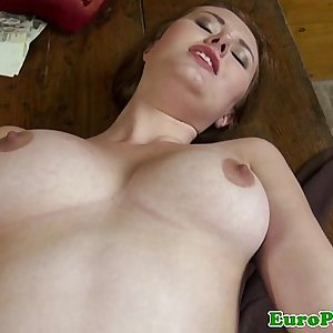 Euro girlnextdoor pussyfucked for cash