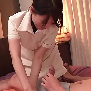 Nana Nakamura gives massage and receives cock in return - More at 69avs com