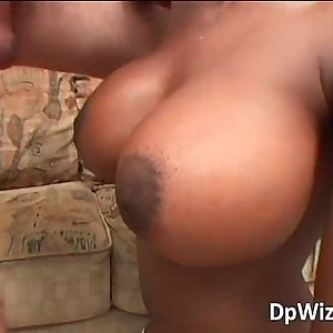 Exotic ebony D/s with big ass