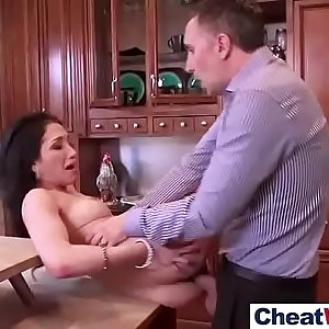 (vicki chase) Naughty Housewife Banged Hard In Cheating Sex Tape Clip-29