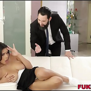 Autumn Falls Her Wet Cunt Squirts While Being Fucked