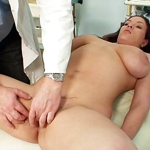 Andrea Visiting Her Gyno Doctor For Real Vagina