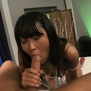 Yuki loves fingers and cock in her vagina and drinks sperm