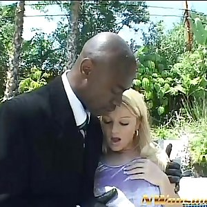 blonde teen anal and dual penetration with two big black dicks