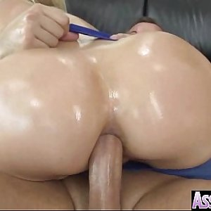 (anikka albrite) Oiled Hot Woman With Round Big Ass Love Anal Sex movie-09